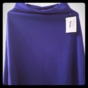 Lularoe small azure navy blue skirt